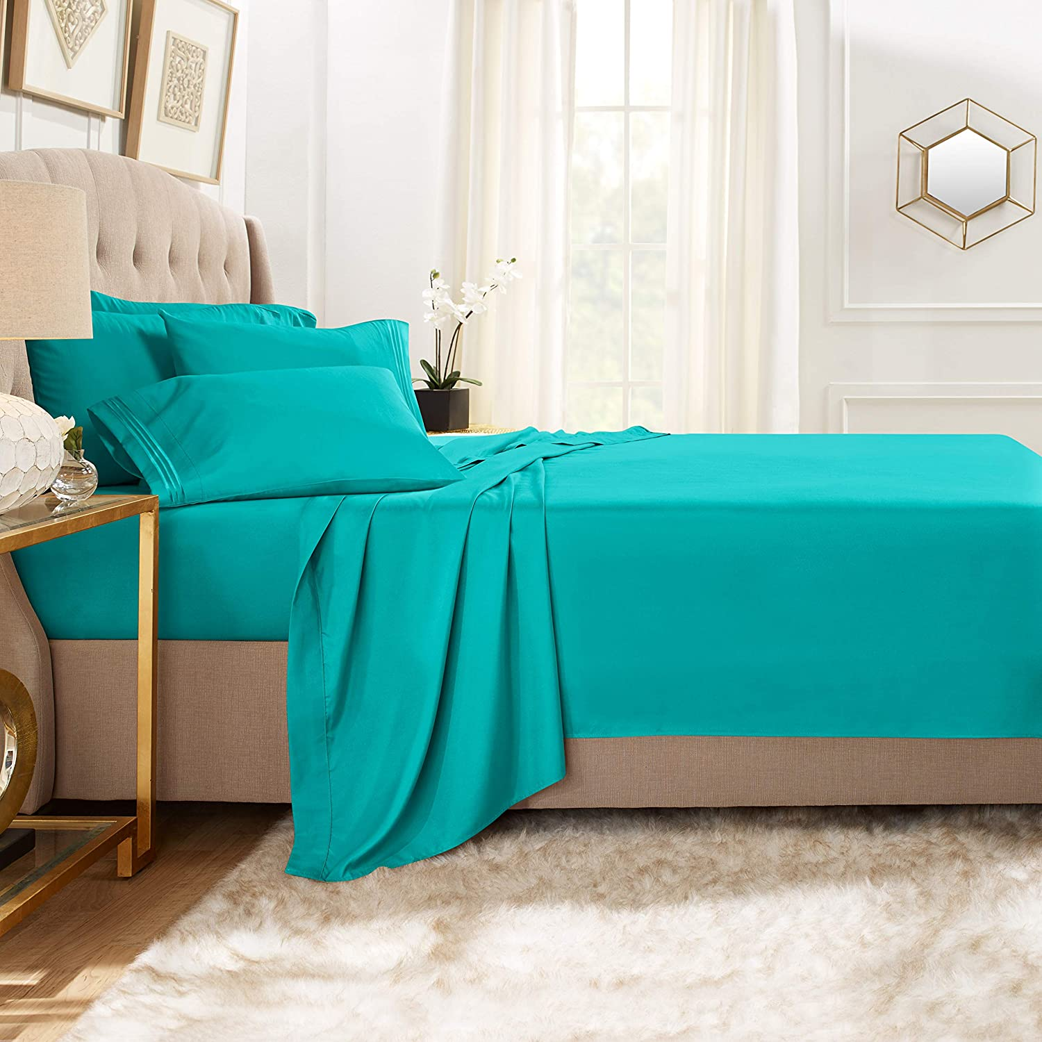 Clara Clark Bed Sheet Set Now on sale Premier Extra 18 with Pillowcases Choice