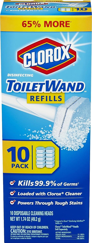 Clorox ToiletWand Disinfecting Refills Count Amazoncom - Clorox disinfecting bathroom cleaner for bathroom decor ideas