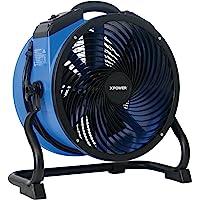 XPOWER FC-300 Professional Grade Air Circulator, Utility Carpet Dryer, Floor Blower-14 Diameter Heavy Duty Portable Shop…