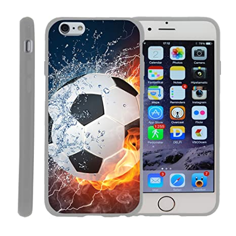 Amazon.com: Carcasa de TPU para Apple iPhone 6 Plus 4.7 ...