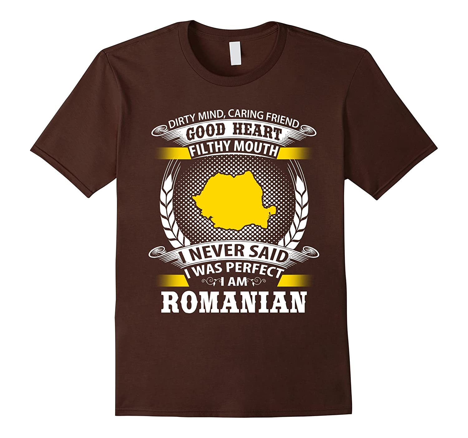 Proud to be Romanian gifts tshirt-FL