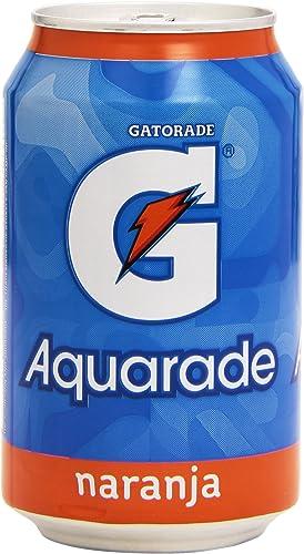 G Aquarade Naranja Refresco Isotónico - 330 ml: Amazon.es ...