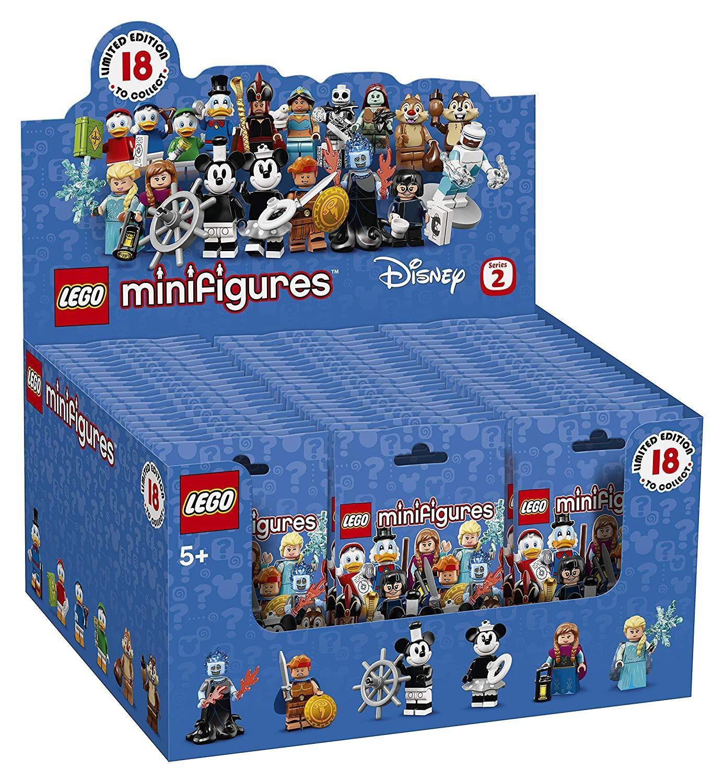 LEGO 024X6 Minifigures Disney Series 2 - 6 Figures Picked At Random
