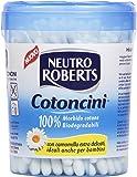 Neutro Roberts - Cotoncini Morbido Cotone, con Camomilla Extra Delicati - 100 pezzi