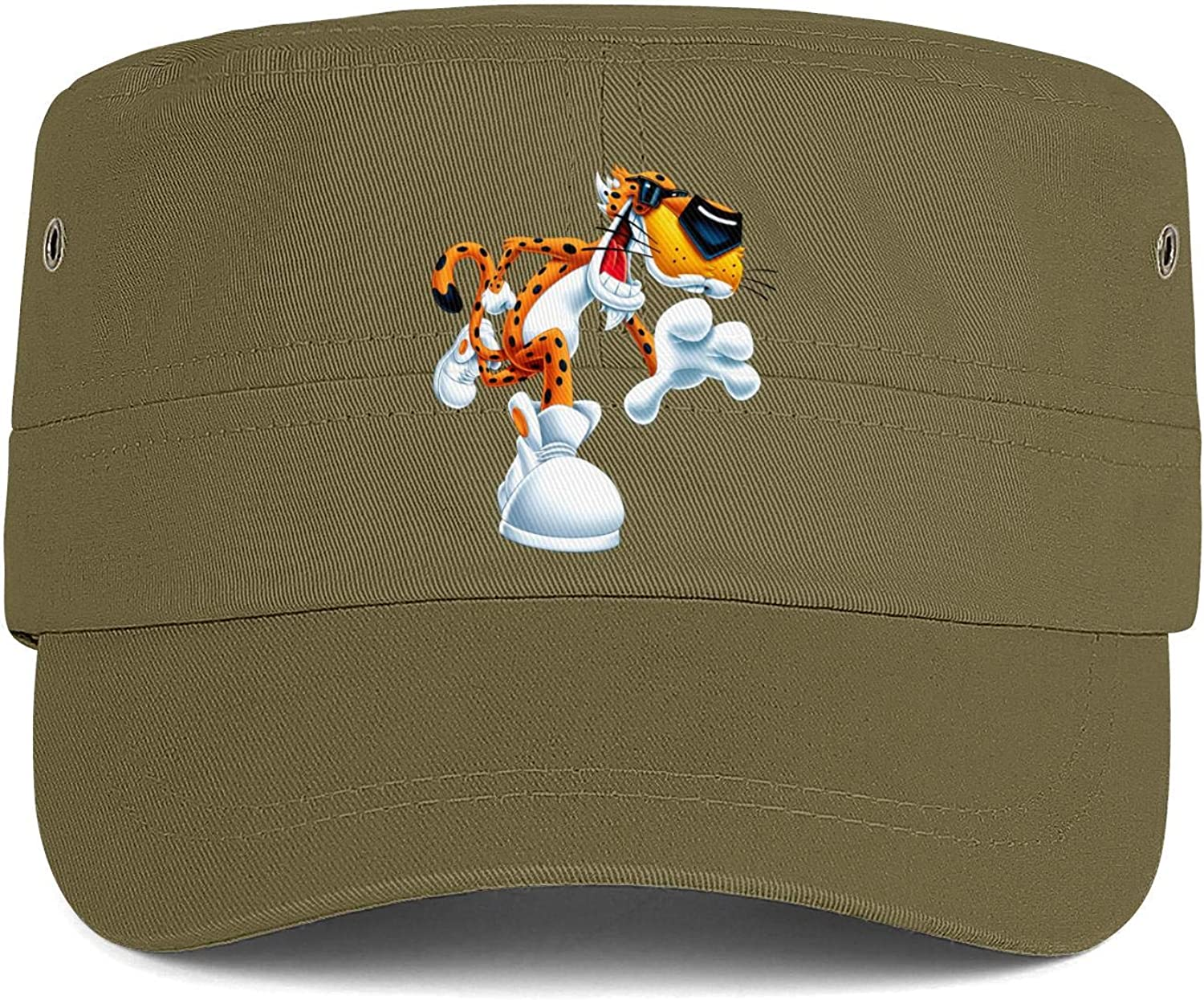 Chester Cheetah Too Cool Cheetos Army Cap Youth Athletic Baseball Round Cap Men Women