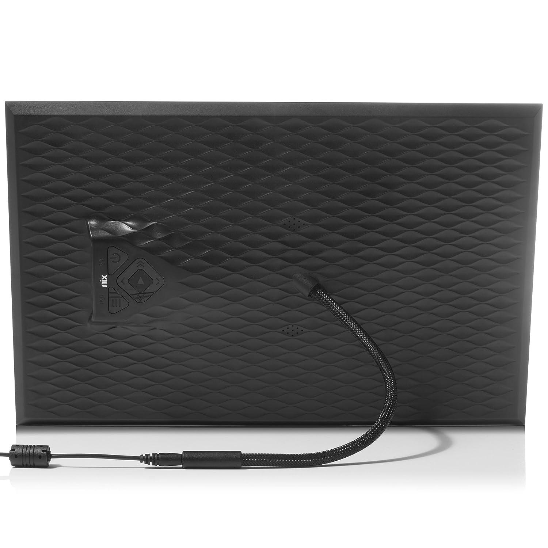 Montable a la Pared SD//SDHC 8GB USB Incluido Portarretratos con Sensor de Movimiento Pantalla IPS NIX Lux Marco Digital de Fotos y Videos 10 Pulgadas X10J Met/álico Portafotos Electr/ónico USB