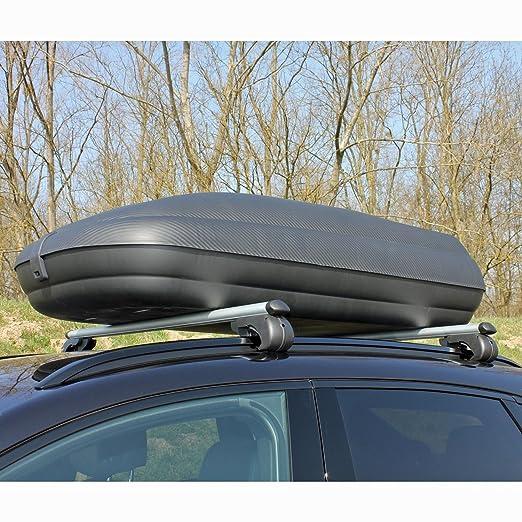 Dachbox MAA320M Relingträger Alu 320 Liter für Mazda 5 05-10 abschließbar