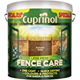 Cuprinol LMFCAG6L Less Mess Fence Care Autumn Gold 6 Litre, 6l