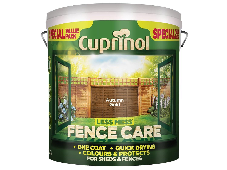 Cuprinol lmfcag6l 6 Liter weniger Unordnung Zaun Pflege – Autumn Gold