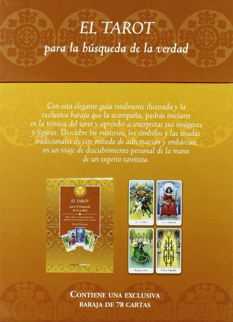 El tarot para la búsqueda de la verdad: David Fontana: 9788448067632: Amazon.com: Books
