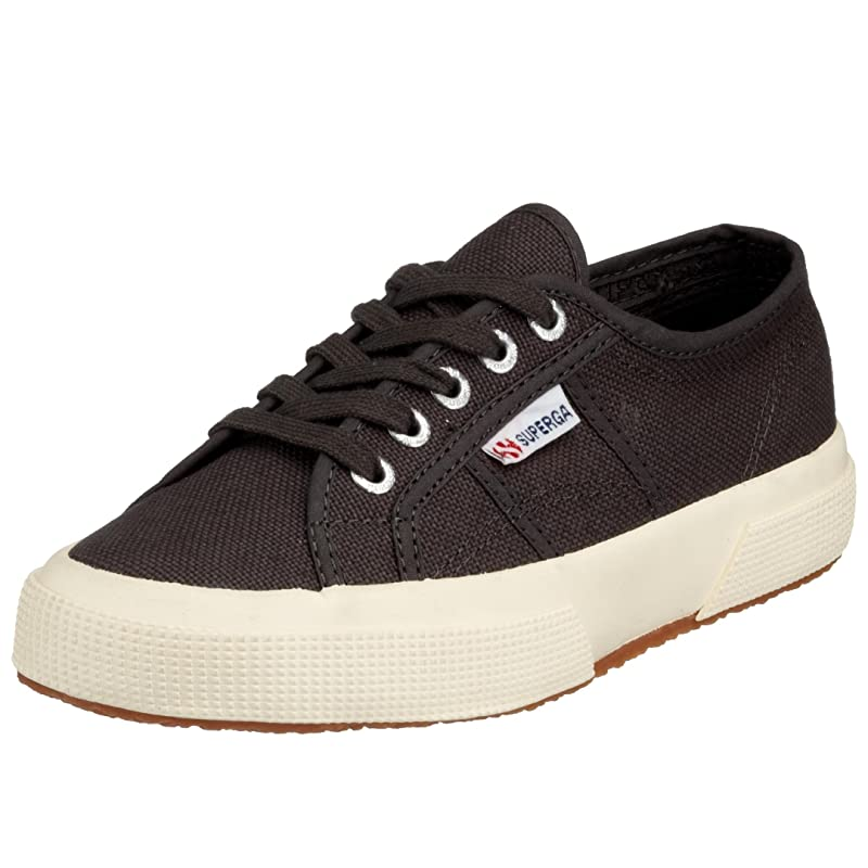 Superga 2750 Cotu Classic Sneakers Low-Top Unisex Damen Herren Dunkelgrau