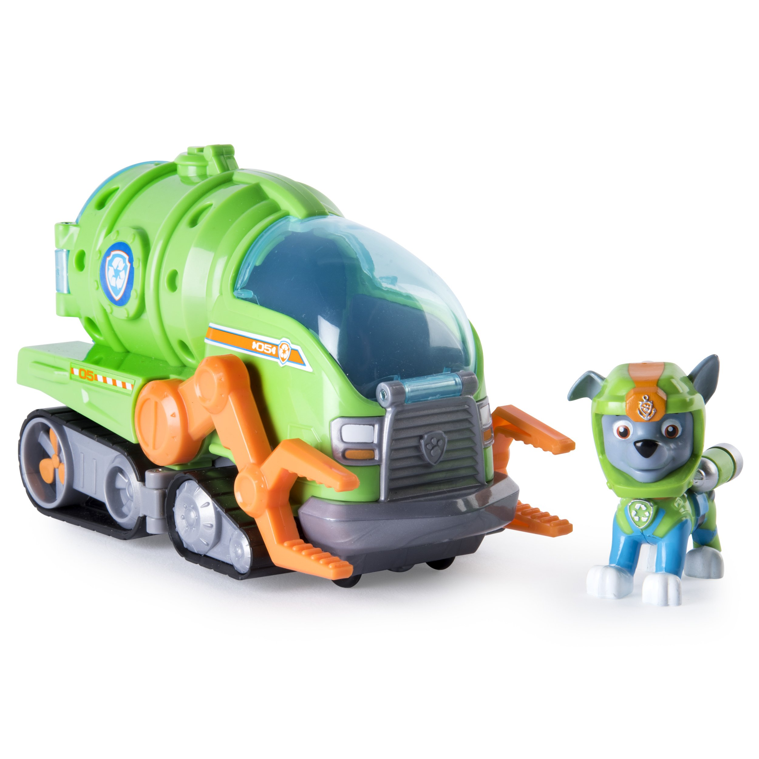 Paw Patrol - Rocky's Transforming Sea Patrol Vehicle by Paw Patrol
