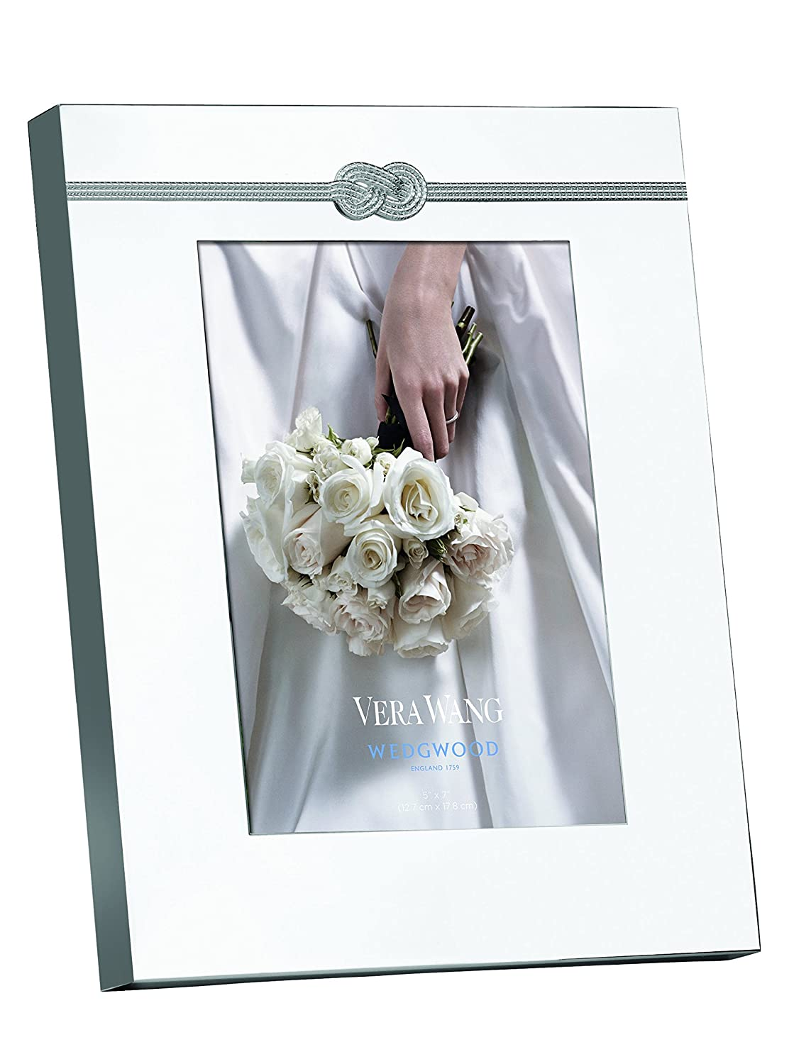 Amazon wedgwood vera wang vera infinity frame 5 by 7 inch amazon wedgwood vera wang vera infinity frame 5 by 7 inch home kitchen jeuxipadfo Image collections