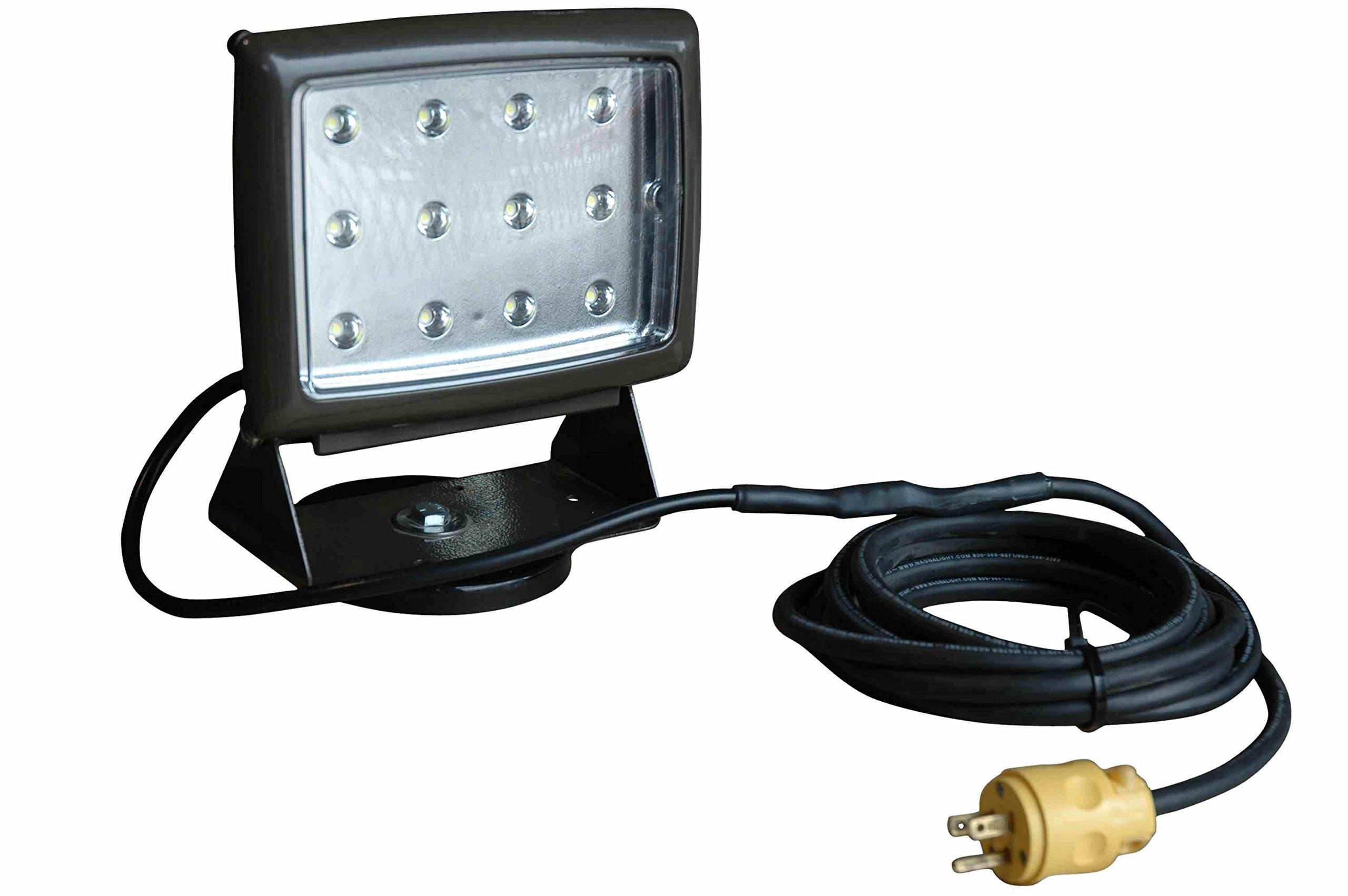 Larson Electronics AML-LED-WP40-M-Brnz High Intensity LED Automotive Mechanics' Work Light with 200lb. Grip Magnetic Base - 120V AC (Bronze)
