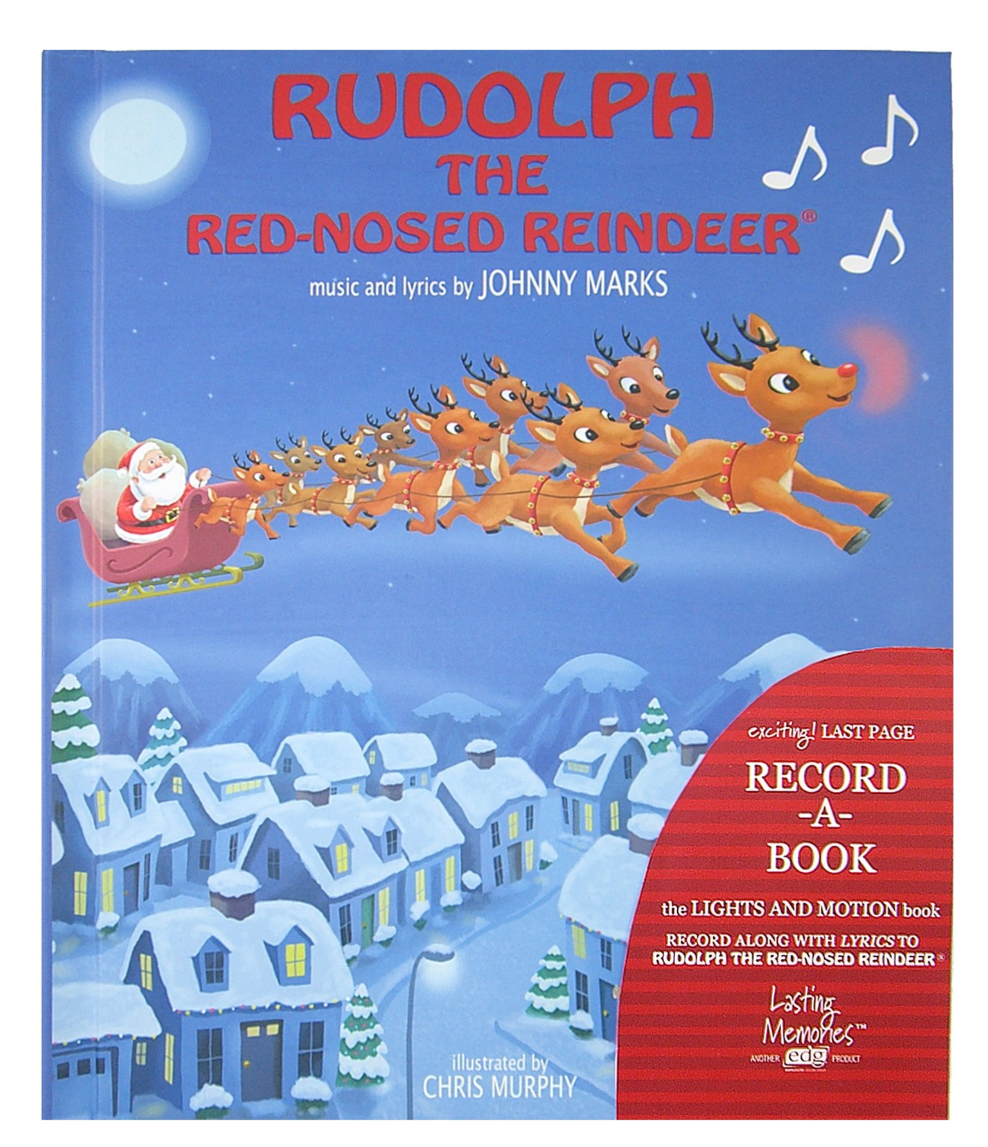 Rudolph The Red-Nosed Reindeer Recordable Story Book