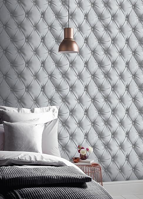 Arthouse Stardust Plain naturel gris argent paillettes Papier peint ÉCHANTILLON DE 256900 seulement
