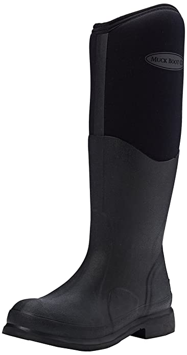 Muck Boots Unisex Adults Colt Ryder Work Wellingtons  Black Black 000  4