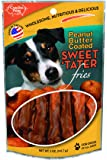Carolina Prime Pet 45051 Peanut Butter Coated Sweet Tater Fries Treat for Dogs (1 Pouch), One Size