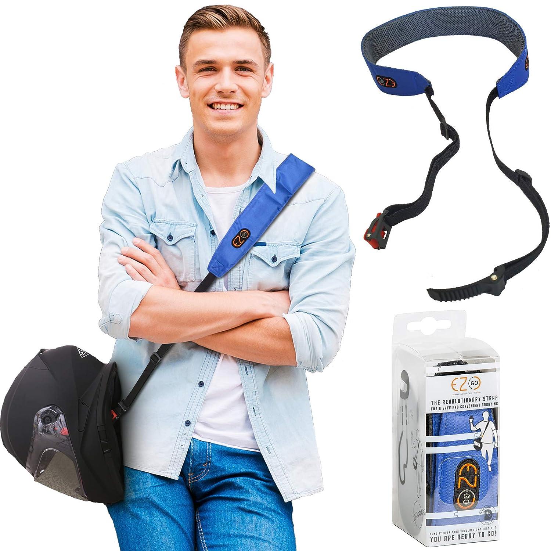 L/'accessoire indispensable moto Porte-casque de moto EZ GO motard transportant une sangle durable. Mains-libres de porter un casque