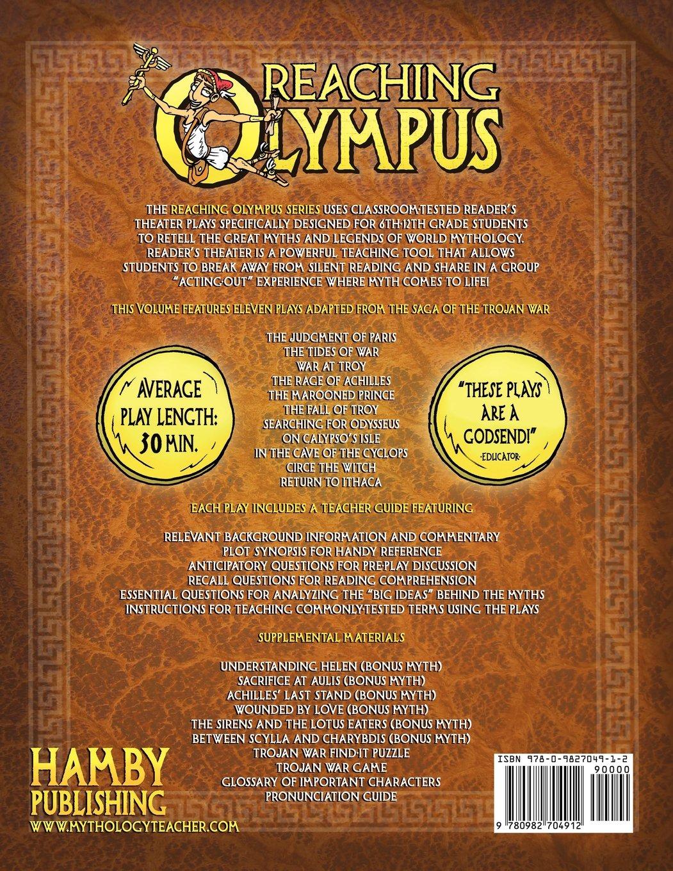 amazon com reaching olympus teaching mythology through reader u0027s