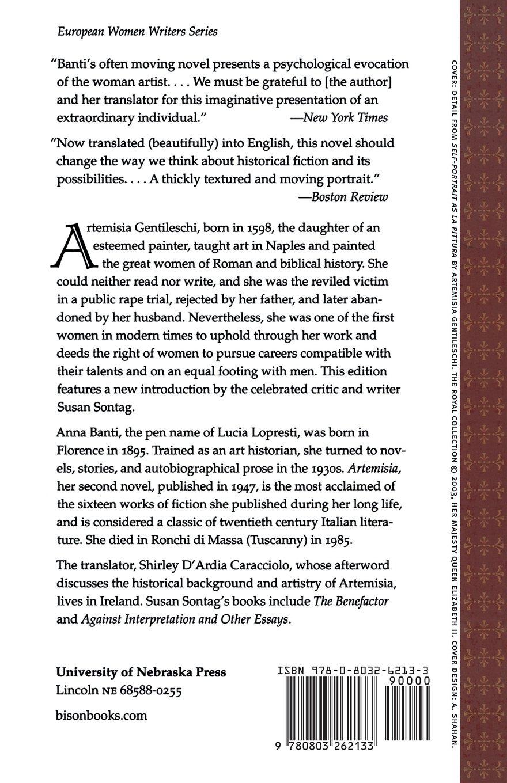 Artemisia (European Women Writers): Amazon co uk: Anna Banti