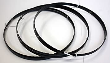 Brennholz 3 x Standard S/ägeband Bands/ägeband Bands/ägeblatt S/ägeb/änder 1770 mm x 8 mm x 0,65 mm x 6 Z/ähne pro Zoll geeignet f/ür Maschinen wie : AL-KO BS Quer- und Schweifschnitte Sperrholz f/ür Holz Hartholz