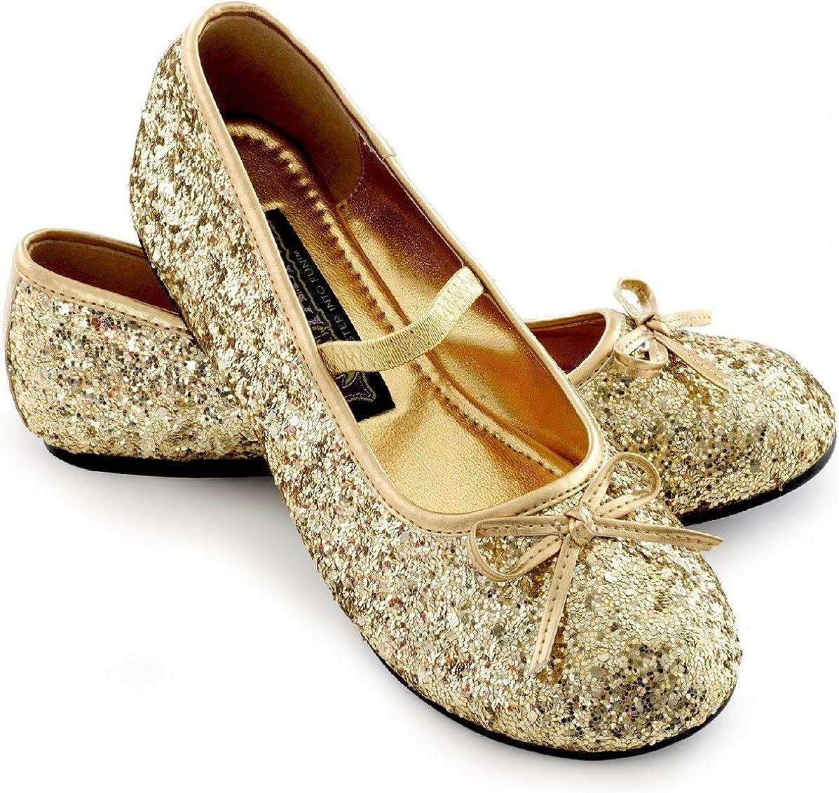 Sparkle Ballerina Shoes Child (gold