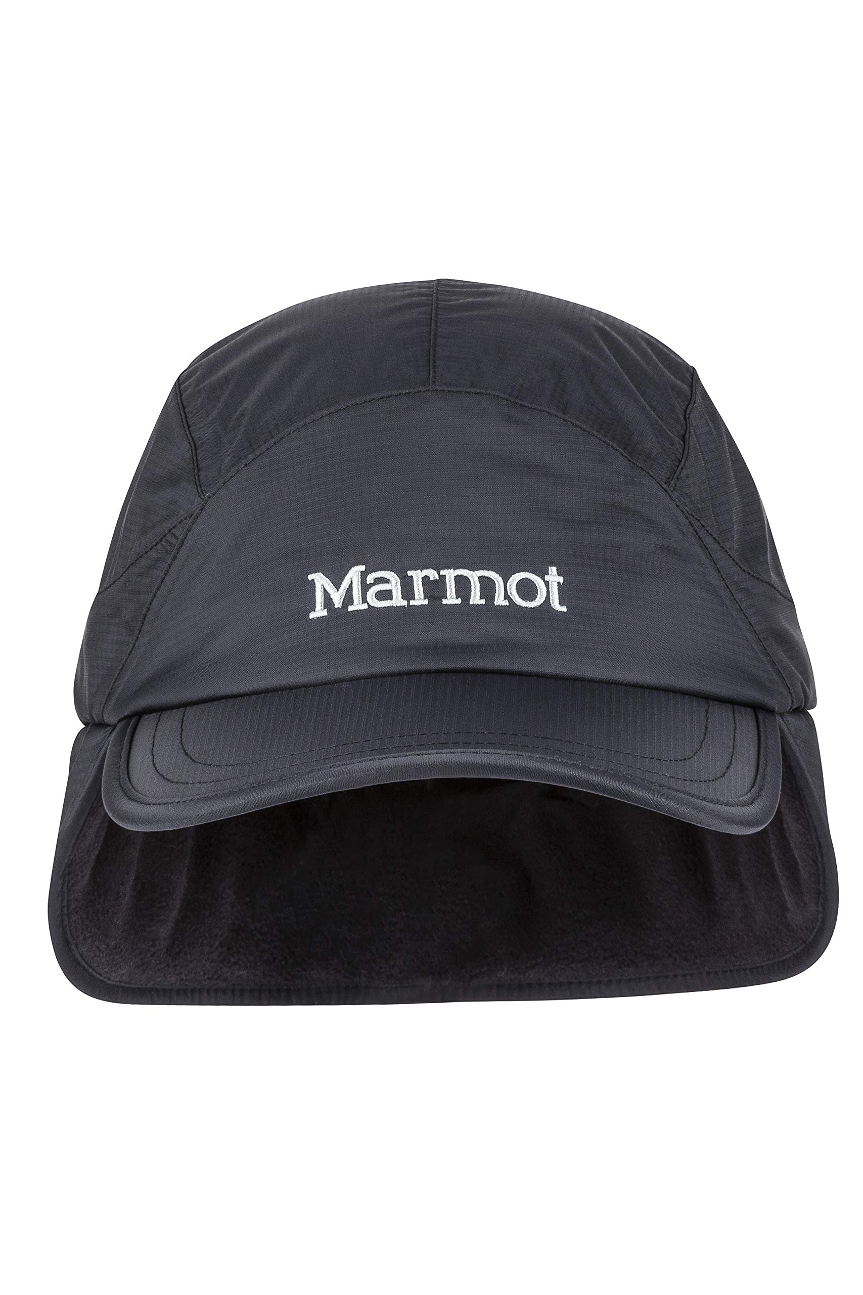 Marmot Super Hero Balaclava Black Water Resistant and Breathable One Size Windproof Ski and Snowboard Storm Mask