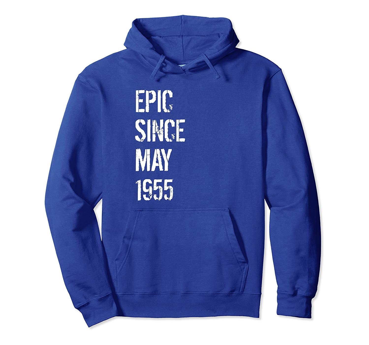 63rd Birthday Gift Hoodie for Men & Women Born In May 1955-alottee gift