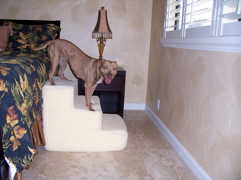 Amazon.com : Big Dawg Foam 3 Step Pet Stair With Sherpa Cover : Three Step  Foam : Pet Supplies