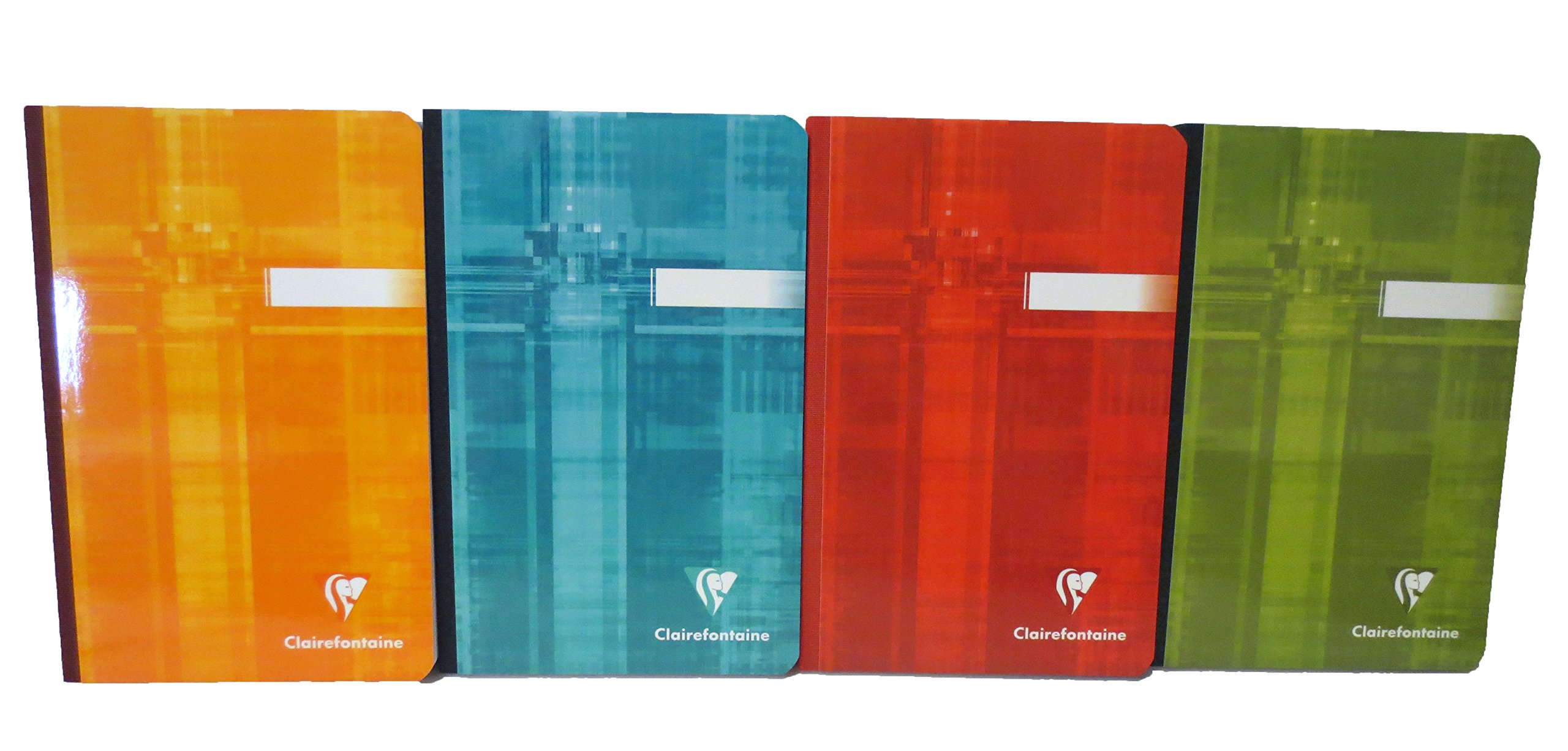 Pack of 5 Clairefontaine Classic Notebook Clothbound 4.25''x6.75'' 192 Pages