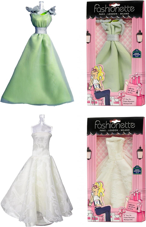 Fashionette Paris 18 Fashion Kleider – Gala Kleid + Hochzeit Kleid