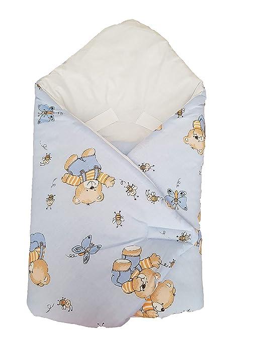 BlueberryShop Clásico de lujo Sábana Asiento Coche Manta Edredón Saco de Dormir Regalo Algodón 0-