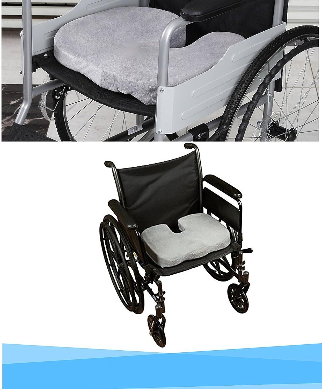 Cojin Ortopédico Coxis para silla y asiento. Alivia el dolor y corrige la postura de Espalda y Lumbar. Cuida de tu salud, para Coxis, hemorroides, ...