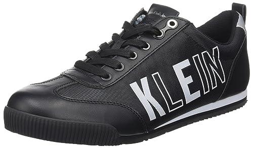Welby Smooth/Nylon, Zapatillas para Hombre, Negro (Charcoal), 46 EU Calvin Klein