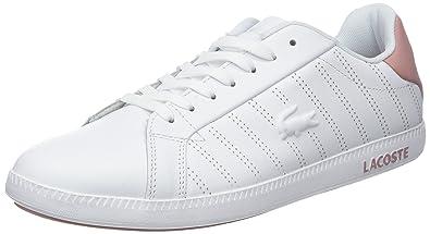 c65dc511bd Lacoste Graduate 318 1 SPW, Baskets Femme: Amazon.fr: Chaussures et Sacs