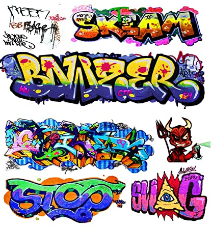 O scale custom graffiti decals 11 weather your box cars hoppers gondolas