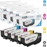 LD Products Remanufactured Ink Cartridge Replacement for Epson T410 (Black, Cyan, Magenta, Yellow , 4-Pack)