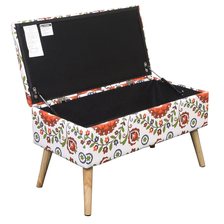 Terrific Otto Ben 30 Inch Storage Ottoman Bench With Easy Lift Top Uwap Interior Chair Design Uwaporg
