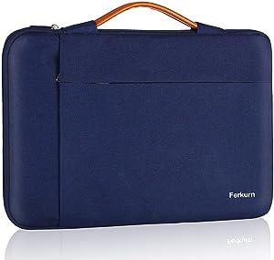 Ferkurn 14 inch Laptop Sleeve Laptop Case 14 inch Chromebook Case for Pavilion x360 EliteBook/Asus Acer Aspire 5 Swift 3 5 ThinkPad Inspiron Flex 14/ Stream 14 ProBook, Waterproof Laptop Carrying Bag