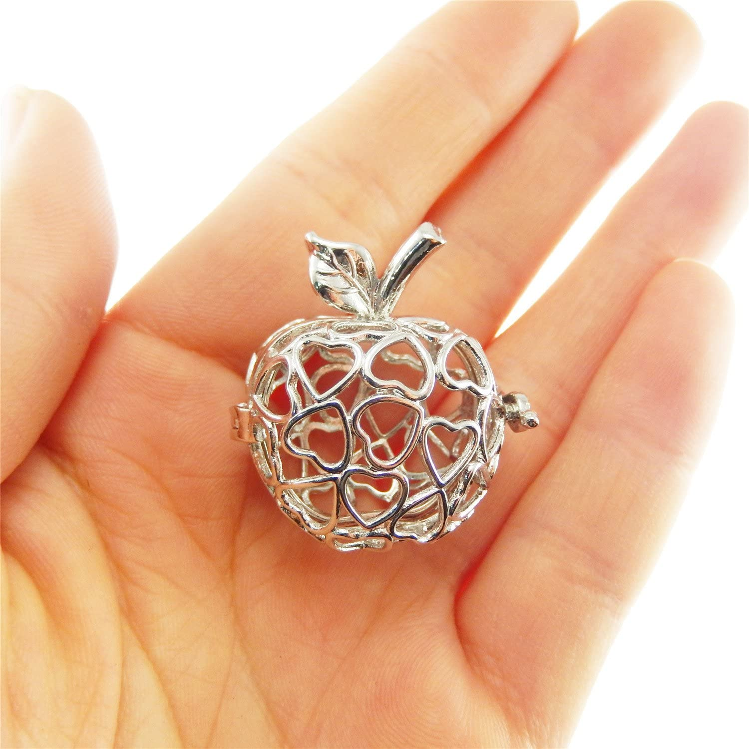 The Best Apple Pendant Pearl Cage