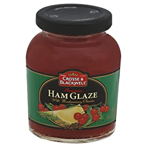 Crosse & Blackwell Premium Ham Glaze With Montmorency Cherries, 10 Ounce (Pack of 6)