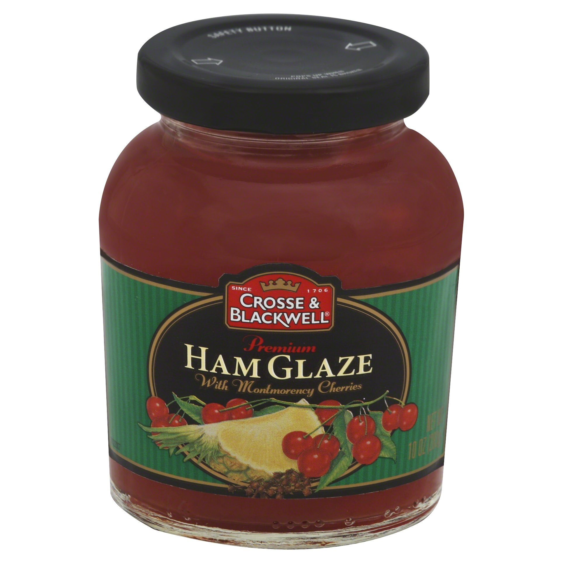Crosse & Blackwell Premium Ham Glaze With Montmorency Cherries, 10 Ounce (Pack of 6) by Crosse & Blackwell