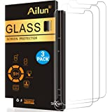 Ailun Screen Protector for iPhone X,iPhone 10 [5.8 INCH][3 Pack],2.5D Edge,Ultra Clear,Anti-Scratch,Case Friendly,Tempered Glass for iPhone X/10,Siania Retail Package