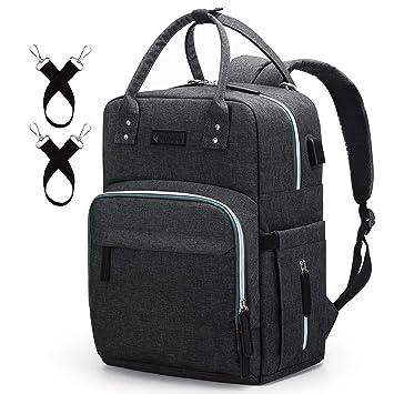 Amazon.com: Mochila para pañales Upsimple, bolsas de bebé ...