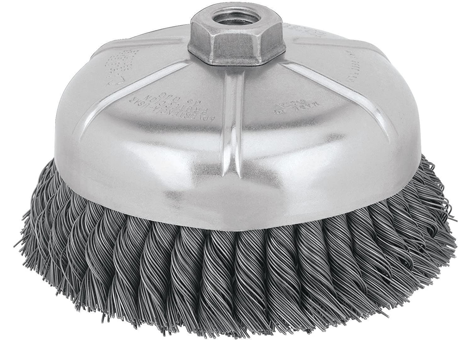 Amazon.com: DEWALT DW4917 6-Inch Knotted Cup Wire Brush: Home ...