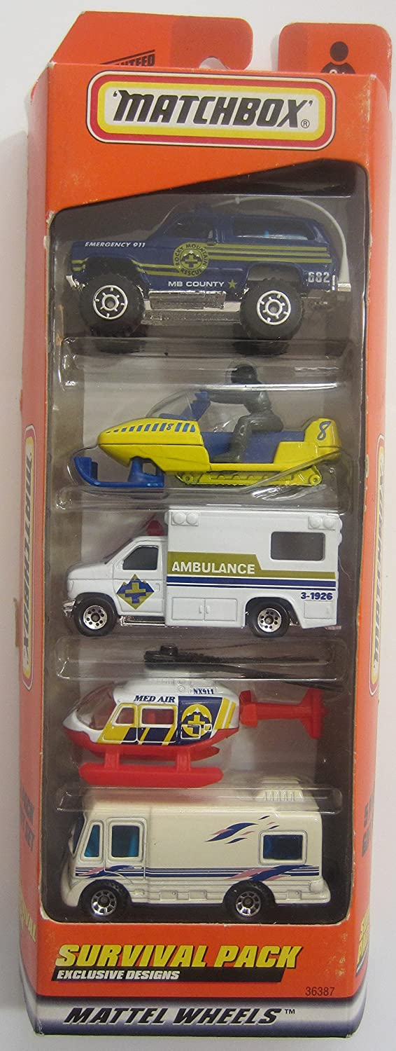 Matchbox 1999 Storm Trackers 5 Pack Gift Set by Matchbox: Amazon.es: Juguetes y juegos