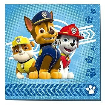 Set 20 servilletas papel Patrulla Canina Paw Patrol