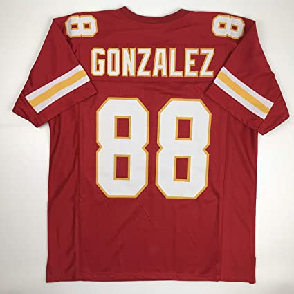 new concept f4778 a9d60 Unsigned Tony Gonzalez Kansas City Red Custom Stitched Football Jersey Size  Men's XL New No Brands/Logos