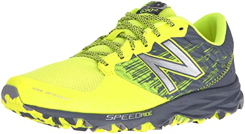 New Balance MT690V2, Zapatillas de Trail Running para Hombre, Amarillo, 41 EU: Amazon.es: Zapatos y complementos